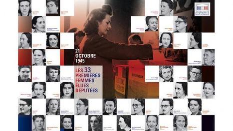 Il y a 70 ans, les premières Françaises élues députées   A Voice of Our Own   Scoop.it