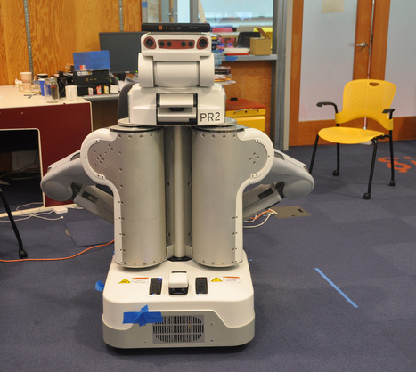 Kinect lets robots learn and navigate 3D environments | KurzweilAI | FutureChronicles | Scoop.it