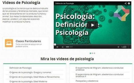 Nuevo canal de vídeos educativos sobre psicología en Educatina | Recull diari | Scoop.it