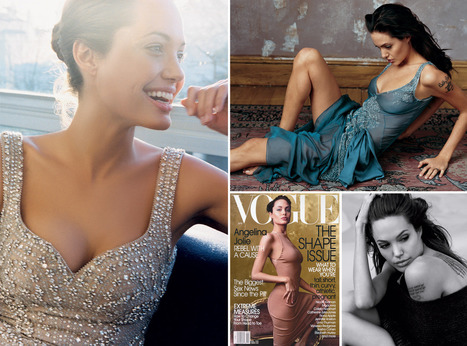 Angelina Jolie in the pages of Vogue - Vogue Daily   Ultratress   Scoop.it
