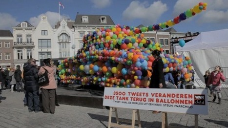 Tank en ballons | streetmarketing | Scoop.it