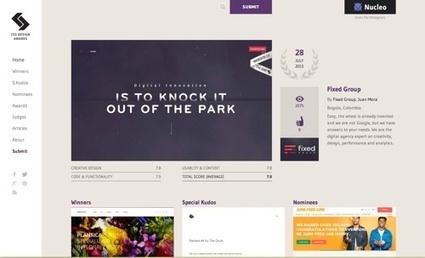 11 Website Design Galleries for Inspiration | Social Media, SEO, Mobile, Digital Marketing | Scoop.it