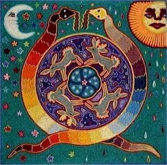 Foro de Odinismo - La Serpiente Arco Iris, Diosa Madre Serpiente | Gaia: La diosa madre | Scoop.it