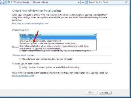 How to Disable Automatic Update Downloads in Windows 7 | Online Technical Support | Scoop.it