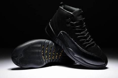 Air Jordan Retro 12 All Black - Cheap Jordan 12,Cheap Nike Foamposite,Cheap Lebron 11,Cheap Nike Run 3,Cheap Retro 11,12,13 Jordans!   cheap jordan retro 12 for sale on cheapjordan12.org   Scoop.it