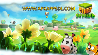 Download Cube Farm 3D Skyland Craft Apk Mod v1.1.238a Full Version 2016 - ApkAppsdl.com | Free Download Android Apk and Games | Scoop.it
