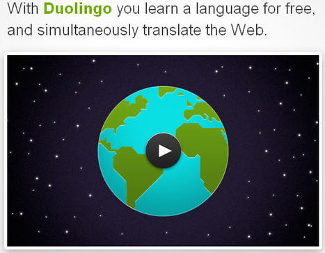 Duolingo : apprendre une langue en traduisant le Web | Langues Education | Scoop.it