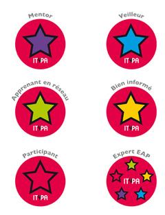 Les badges d'ITyPA 2 | Numérique & pédagogie | Scoop.it