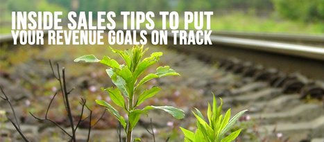 Inside Sales Tips to Put your Revenue Goals on Track | Lead Generation Strategy, Concepts and Ideas | Scoop.it