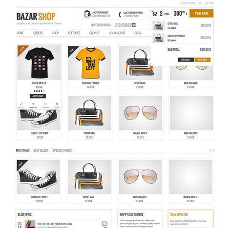 Best eCommerce WordPress Themes 2013 (Updated) | WordPress Theme Download | Best WordPress Themes 2013 | Scoop.it