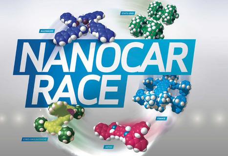 PRESSE - Le CNRS organise la première course de molécules-voitures - Fredzone | Actualité des laboratoires du CNRS en Midi-Pyrénées | Scoop.it
