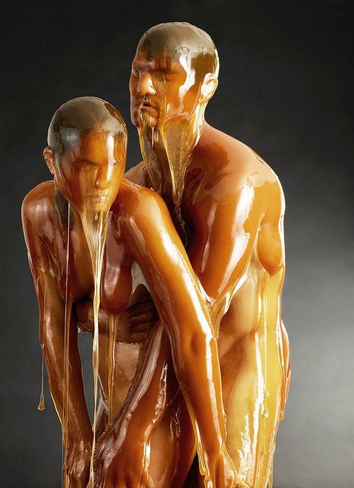 "Honey-dipped nudes: photographer Blake Little's ""Preservation"" | Let's Get Sex Positive | Scoop.it"