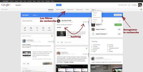 Utiliser le #hashtag Google Plus pour suivre votre réputation ou faire de la veille ? | Time to Learn | Scoop.it