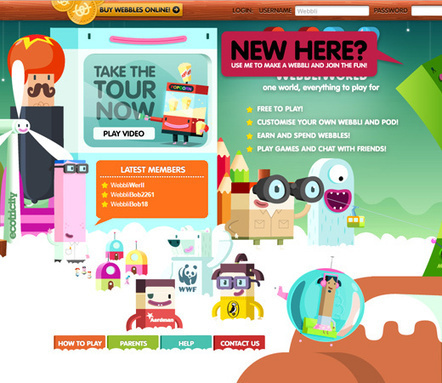 30 Unique Website Designs with Illustrated Graphics - BittBox | Webdesign Glance | Scoop.it