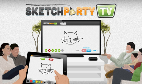 Apps in Action: SketchParty TV for Starters and Plenaries | Technology and language learning | Scoop.it