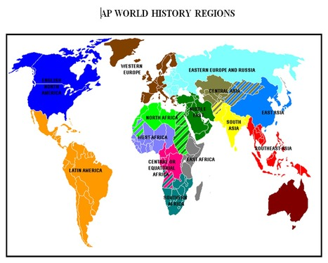 MAP REGIONS TO STUDY.pdf - Google Drive | Walkerteach Geo | Scoop.it