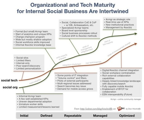 The growing evidence for social business maturity - ZDNet | Peer2Politics | Scoop.it