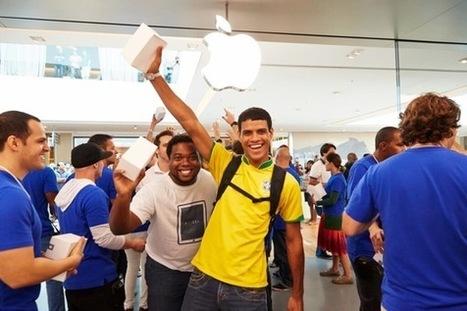 1 700 personnes présentes pour l'ouverture de l'Apple Store au Brésil | Mon étude APPLE | Scoop.it