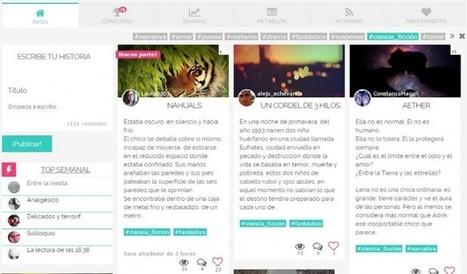 sttorybox, una nueva comunidad literaria en español: para leer y escribir historias | Educacion, ecologia y TIC | Scoop.it