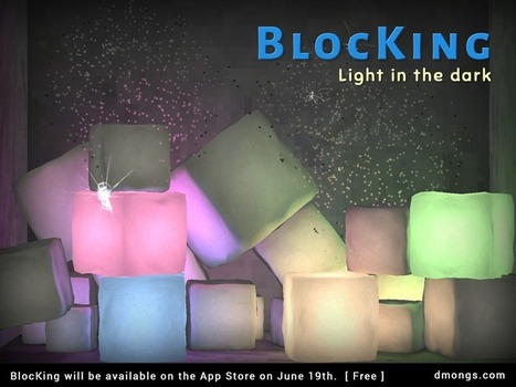 DMONGS: Commercializing 'BlocKing - light in the dark'   BlocKing - light in the dark (iOS game)   Scoop.it
