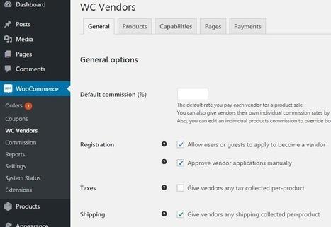 How to create multi vendor ecommerce website with woocommerce - Programming Blog | Web tutorials | Scoop.it