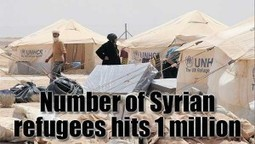 So There Are Now One Million Syrian Refugees | News From Stirring Trouble Internationally | Scoop.it