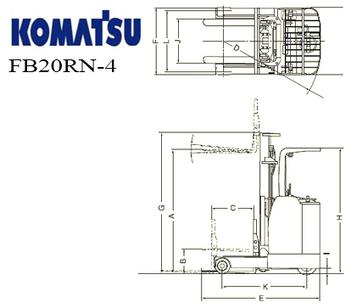 Xe nâng Komatsu FB20RN-4 | Diigo | Xe Nâng Qua Sử Dụng | Scoop.it
