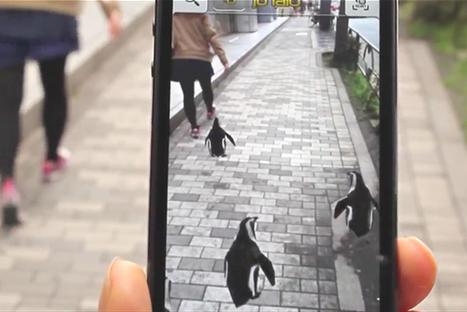 Pour attirer les visiteurs, cet aquarium a lancé un GPS de pingouins en réalité augmentée !   Actua web marketing   Scoop.it