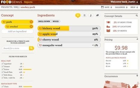 How Food Genius built the ultimate test kitchen out of menu data | Restaurant MarketingTraffic Builders | Scoop.it