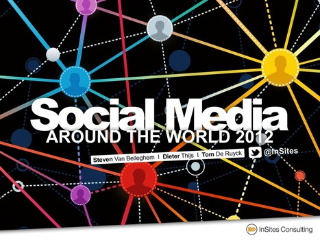 10 striking conclusions of the Social Media around the World 2012 ... | Social Media and Web Infographics hh | Scoop.it