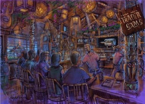 Disneyland Hotel's Trader Sam's and Tangaroa Terrace Open May 25th! | disney | Scoop.it