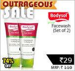 Bodysol Pure Facewash 50ml Set of 2 + Rs. 1 Cashback Rs. 58 – ShopClues | SaveMoneyIndia | Best Online Deal Website India. | Scoop.it