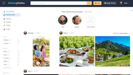Amazon Launches Family Vault to Share Your Unlimited Photo Storage With Five People | Tools You Can Use | Scoop.it