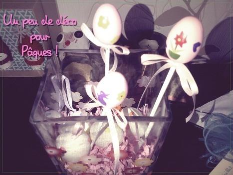 ✿ Un peu de déco pour Pâques ! ✿ (Avec DIY super simple et rapide) - ** Petite-Mam ** | Petite-Mam | Scoop.it