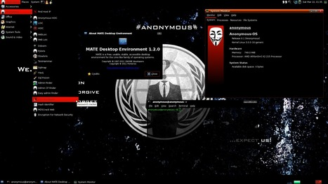 Anonymous OS est sorti | Time to Learn | Scoop.it