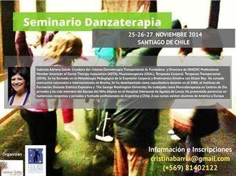 Seminarios DANZAT en Santiago de Chile ,... - Gabriela Adriana Golub | Facebook | Arteterapia | Scoop.it