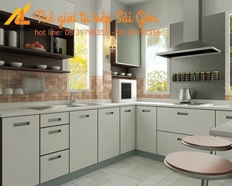Tủ bếp gia đình chị Hoa Vũng Tàu | Tủ Bếp Sài Gòn Cao Cấp | Scoop.it