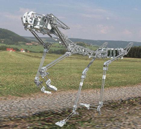 Pneupard, un robot aux muscles artificiels pneumatiques | Actualités robots et humanoïdes | Scoop.it