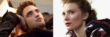Robert Pattinson and Mia Wasikowska make list of 25 best actors in their 20s   'Cosmopolis' - 'Maps to the Stars'   Scoop.it