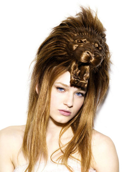15 Animal Sculptured Hairstyles That Will BLOW YOUR MIND | lisa77gq | Scoop.it