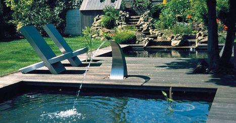 Faire un bassin dans un jardin : les bonnes idées   Rennes Métropole   Scoop.it