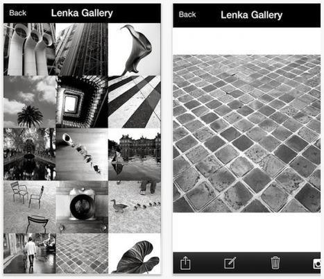 [Bon App'] Lenka, l'appli de retouche photo pour les fans de noir et blanc - FrenchWeb.fr | PréoccuPassions | Scoop.it