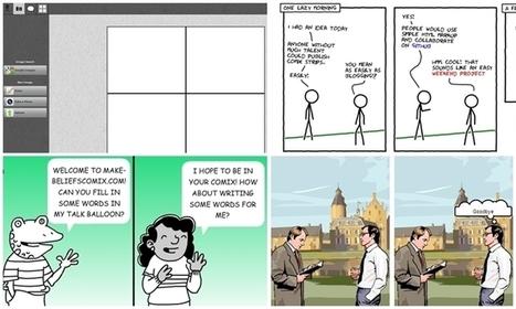 4 herramientas para crear cómics en línea | EDUCACIÓN en Puerto TIC | Scoop.it