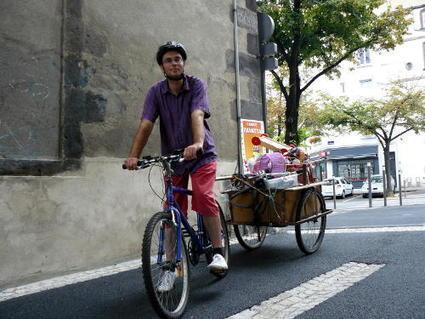 Vélo utilitaire : déménagement à vélo | RoBot cyclotourisme | Scoop.it