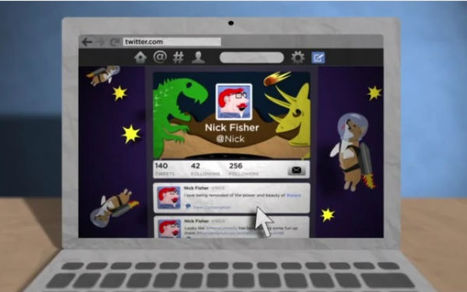 Twitter Cartoon Video Shows How to Set Up Profile, Header Pictures | eDidaktik | Scoop.it