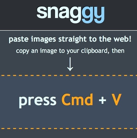 Post Any Image File or Screenshot To a Web URL in One-Click: Snag.gy | Geek 2015 | Scoop.it