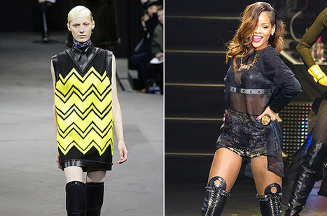 10 Designer Fashion Week Looks for Miley Cyrus, Beyonce, Rihanna & More | Fashion Week Fever | Scoop.it