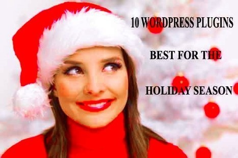 10 awesome WordPress plugins to rock your blog this Holiday season | Computer technology and blogging | Scoop.it