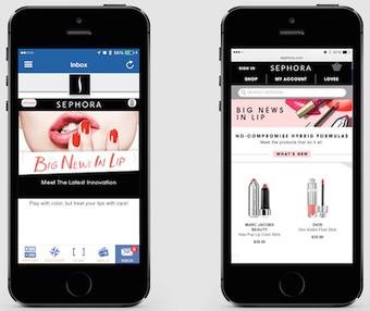 Sephora turns QR code scans into targeted mobile messaging   Prestige Brands & Digital   Scoop.it
