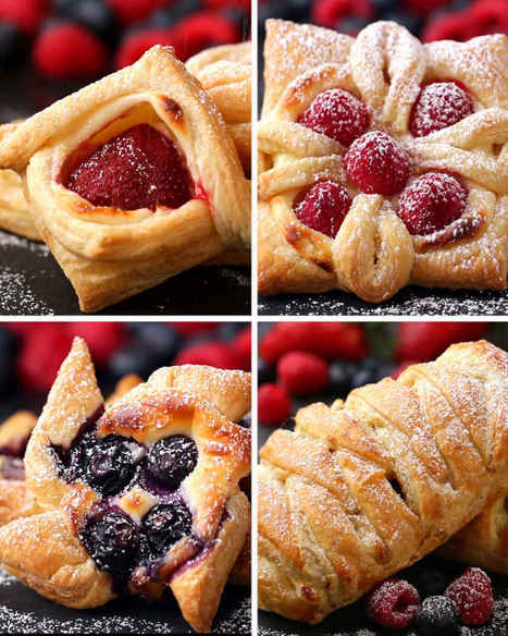 Puff Pastry Four Ways - Food And Drink For You | ♨ Family & Food ♨ | Scoop.it